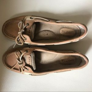 Sperry's Anglefish Slip-on Boat Shoes